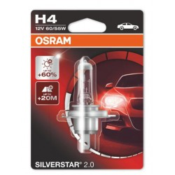 Крушка за фар H4 OSRAM +60%