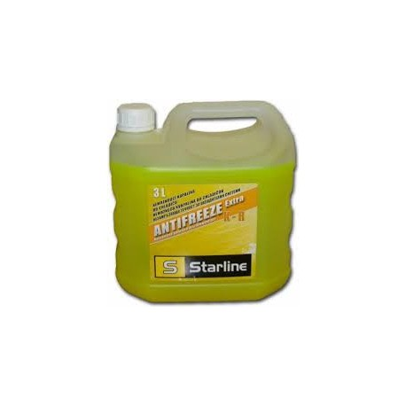 Антифриз     Starline 3L  / Жълт  K-R/